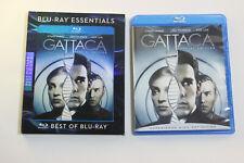 Gattaca 1997 [2008 Special Edition Blu-ray Sci-Fi Thriller Region Free Slipcover