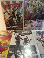 Marvel Comics Lot Of 5, Variant Cover Issues, NM/M, X-Men, Civil War, Deadpool
