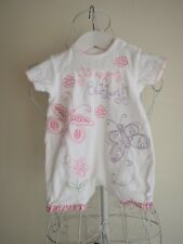 "Size 0-3m ""Next"" Gorgeous Girls White Romper. Great Condition! Bargain Price!"
