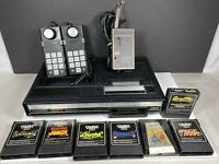 ColecoVision Console Two controllers 7 Games No power adapter Not tested