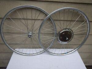 "Vintage Specialized Stumpjumper Saturae X28 Mountain Bike Wheelset Wheels 26"""
