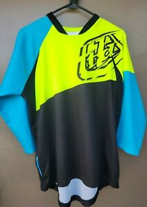Troy Lee Designs Ruckus Jersey Men Size S. Color Neon Yellow/ Black.  Pre-owned.