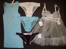 937114a91d New ListingNWT Victoria s Secret S BABYDOLL+tank+panty I DO crystallized  BLUE white BRIDAL
