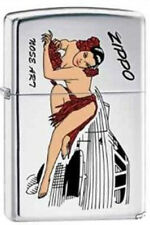 Zippo 6884 nose art pin up girl RARE & DISCONTINUED Lighter