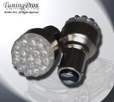 (1 Pair) Set of 2 pcs Tail Light 1157 19 Blue LED Light Bulbs 2057 7225 2357