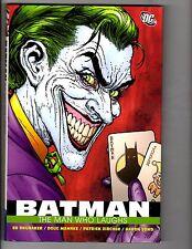 Batman The Man Who Laughs DC Comics HARDCOVER Graphic Novel 1st Print Joker J162