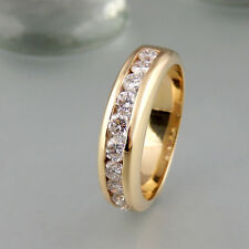 Ring ca. 0,80ct TW-vvs Brillanten 585/14k Gelbgold