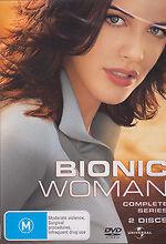 Bionic Woman : Season 1 (DVD, 2008, 4-Disc Set) New DVD Region 4 Sealed