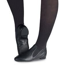 Capezio Kids Jazz Split Sole Black Leather Gore Boot Cg05c Young Child 10.5 W