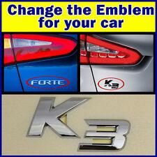 Genuine KIA Forte Cerato K3 Koup Emblem Logo OEM Trunk Rear Korea Parts 2013 14