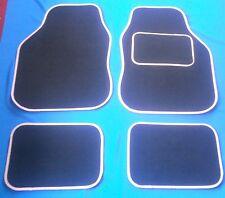 Black & Pink Car Mats For Peugeot 306 307 307cc 308 308cc 405 406 407