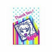 NIP  Bratz 8pk Thank You Note Cards with envelopes