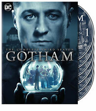Gotham:The Complete 3rd Season (DVD, 2017, 6-Disc Set) New With Torn Plastic