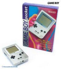 Nintendo GameBoy Pocket - Konsole #silber JAP mit OVP