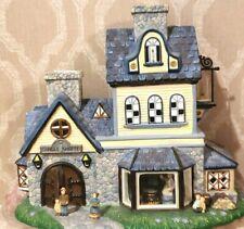 PartyLite Olde World Village Candle Shoppe Shop 1st Ed. Tealight No P7315- New