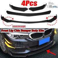 4PCS Paraurti Anteriore Corpo Spoiler Universale Per Audi/BMW/Ford  VW Mercedes