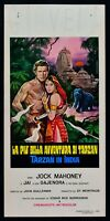 Plakat Tarzan IN Indien Goes To India John Guillermin.jock Mahoney L16
