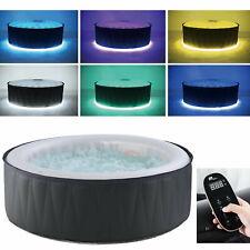 XXL Luxus MSPA LED Whirlpool NEUHEIT 2020 aufblasbar Outdoor+Indoor + Heizung