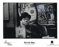 "Bernie Mac 1957-2008 autograph 8""x10"" photo signed In Person US comedian"