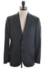 DOLCE & GABBANA Mens Blazer Jacket Size 38 Medium Black Cotton