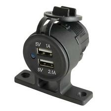 Double Twin USB Panel/Surface Mount Outlet 5VDC 3.1A (1x 1A & 1x 2.1A) - MP3616