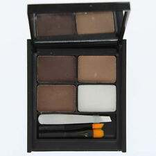 Pressed Powder Eyebrow Combination Liners/Brushes