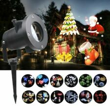 Laser Light Show Projector Fairy Christmas Holiday House Garden Outdoor LED Lamp