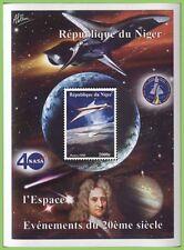 Nigerien Sheet Space Postal Stamps