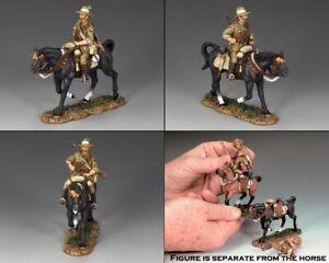 KING & COUNTRY AUSTRALIAN LIGHT HORSE AL063 AUSTRALIAN TROOPER WITH RIFLE RIGHT