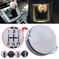 for ford Mustang GT500 5 Speed Manual Gear Shift Knob Shifter Image Ball White