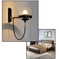 Kitchen Wall Lamp Modern Wall Light Fixtures Bedroom Lighting Glass Wall Sconce