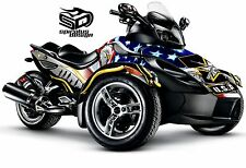 Can Am Spyder GS RS RSS graphic wrap decal kit The Patriot Army