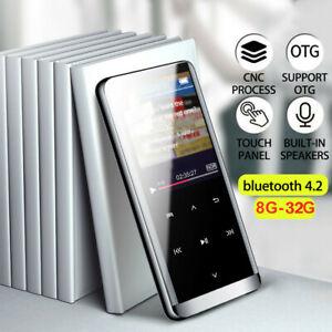 Portable Bluetooth 8GB MP3 MP4 Music Player Touch Key FM HiFi Media Radio