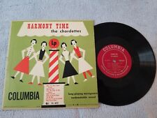 The Chordettes / Harmony Time - CL 6111 - Vinyl LP Record Album - Columbia