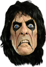 Alice Cooper Mask Rock Heavy Metal Goth Music Halloween Horror Movie Collectible