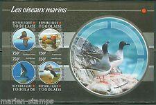 TOGO   2015  SEA BIRDS SHEET   MINT  NH