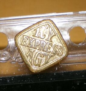 Railroad 1 Piece Uniform Button Railway Express Agency