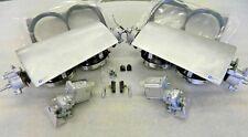 NEW 63-67 CORVETTE T3 Headlight Assemblies w/ Motors Headlamp Bucket Lid GM Lic