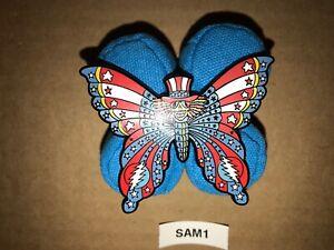 Grateful Dead Emek Butterfly Pin Uncle Sam Jerry Garcia