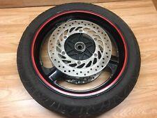Honda CBR 1000 Cbr1000 1987 Vorderrad Felge Reifen & Bremsscheibe