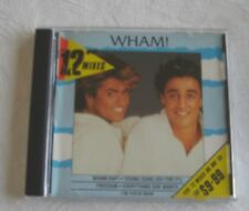 "WHAM. THE 12"" MIXES VERY RARE AUSTRALIAN  PRESSED CD ALBUM"