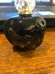 Poison by Christian Dior Women 3.4 Oz 100ml TSTR Authentic EDT Perfume