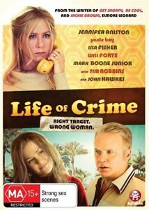 LIFE OF CRIME DVD  - BRAND NEW SEALED - BONUS FEATURE