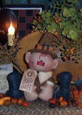 Primitive Pilgrim Little Saul Ornie Doll Paper Pattern #225