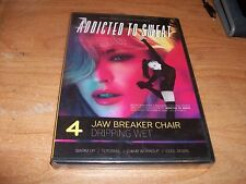 Addicted to Sweat 4 Jaw Breaker Chair Dripping Wet (DVD 2012 Hard Candy Fitness)