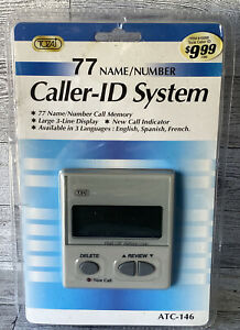 TOZAJ  77 Name/Number Caller-ID System • ATC-146 • Factory Sealed!