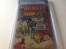 Avengers 83 Cgc 6.5 1St Liberators Male Chauvinist Pigs Valkyrie Marvel Comics
