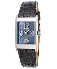 Eterna 11879041541158Fra Women's 1935 Diamond Dark Grey Genuine Lizard Watch