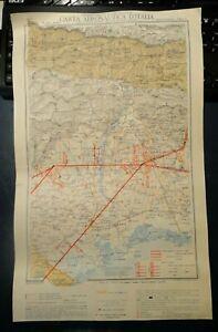 1925 CARTA AERONAUTICA D'ITALIA - UDINE / TOLMEZZO - COMMISSARIATO D'AERONAUTICA