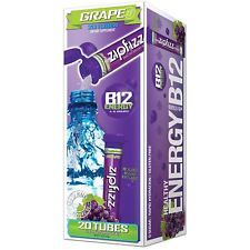 ZIPFIZZ HEALTHY ENERGY MIX Dietary Supplement  Vitamin B12 Grap 20 tubs